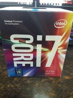 Intel i7 7700 cpu Z270 H270