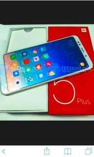 Redmi 5 Plus Gold phone