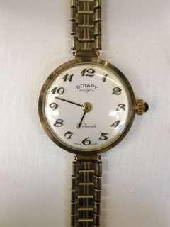 ROTARY 9k金壳上鍊機械錶