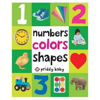 Number Colors Shapes (First 100) #1212