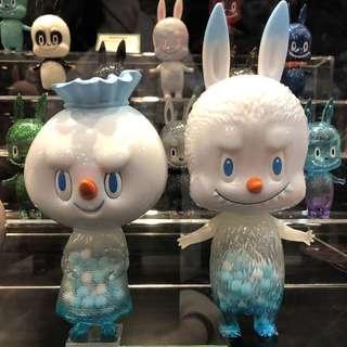 Labubu Spooky Snowman Set ToySoul 2018 限定