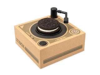 🚚 Limited Edition Oreo music box that's plays music from Oreos (US)