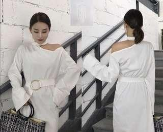 Midi dress import korea