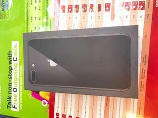 iPhone 8 Plus 256GB grey.  One year warranty