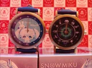 KOAOISORA 1月預訂 初音ミク 10周年記念 Hatsune Miku 初音未來 - Snow Miku - Design Watches デザイン腕時計 景品手錶 (全新)