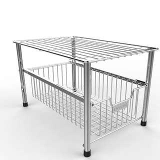 E712 esylife mesh cabinet badket organizer