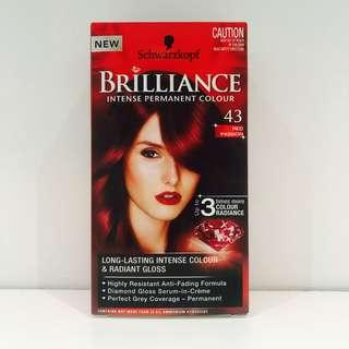 Schwarzkopf Brilliance 43 Red Passion Hair Dye