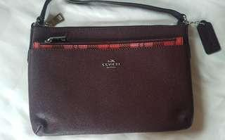COACH crossbody sling bag with pouch