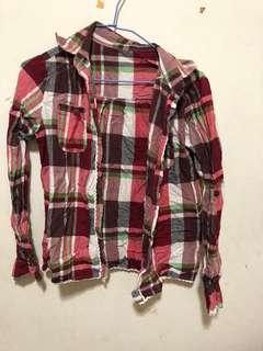 🚚 長袖襯衫 襯衫外套 格子襯衫
