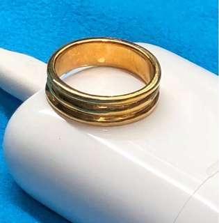 Lovely gift for mum ❤️❤️ (916 Gold Ring)