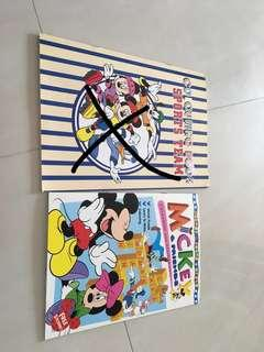 Mickey Mouse colouring books