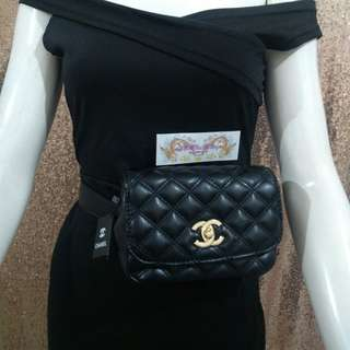 af32b2ccdcb8 SOLD OUT 7inches Chanel Belt Bag 2in1 Chanel Chain Bag Chanel Sling Bag  Chanel Quilted Bag