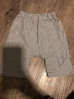 Seed Baby stripes pants with 2 side pockets