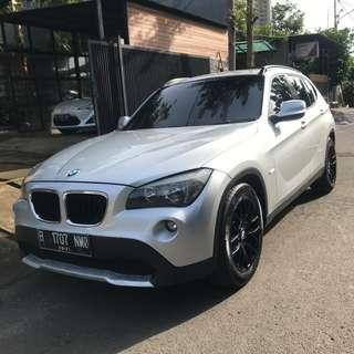 BMW X1 sDrive 1.8i 2010 A/T Silver Stone Termurah Se indonesia not 2011/2012