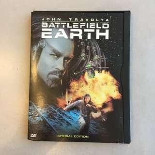 Battlefield Earth Region 1 DVD
