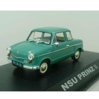 Norev Lecturama 1/43 : NSU Prinz III 汽車模型