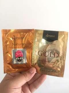 Hanasui Naturgo Black and Gold
