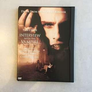 Interview with the Vampire Region 1 DVD