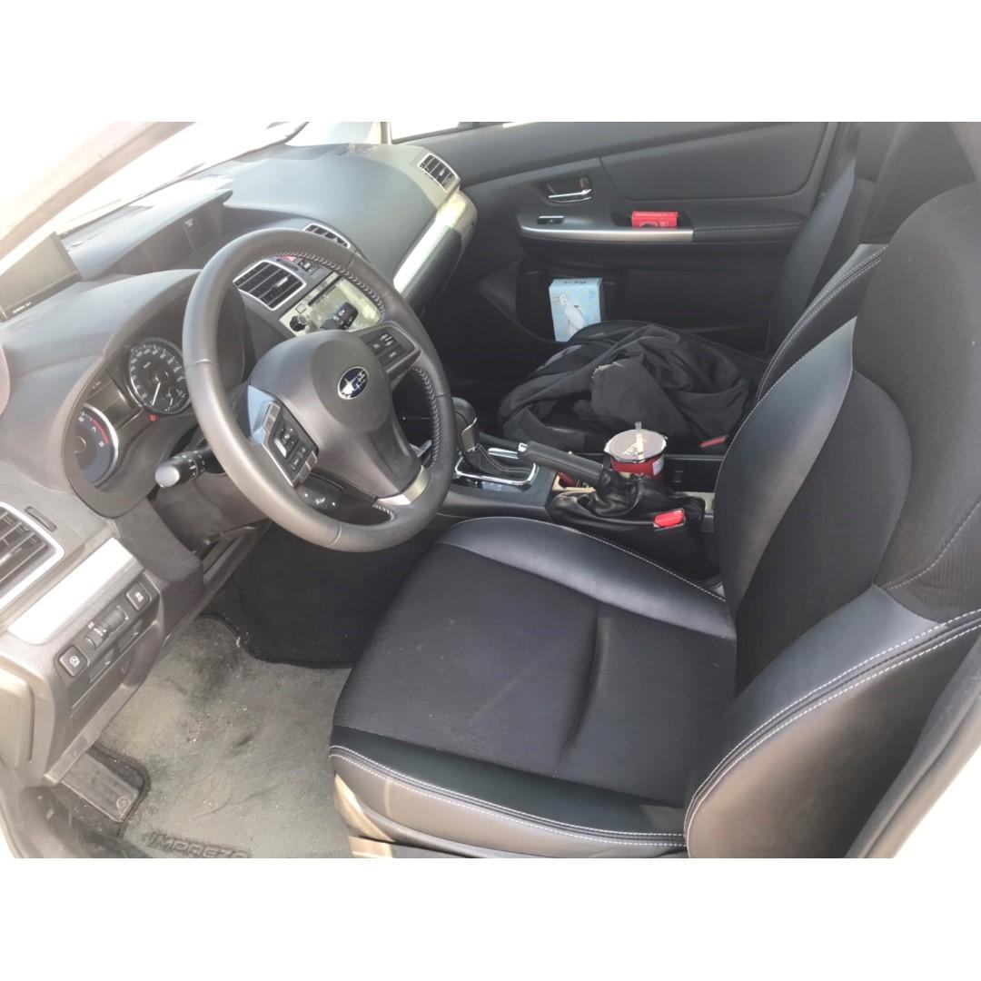 2015年Subaru Impreza 1.6s 配備滿出來 想的到進口車的配備都有
