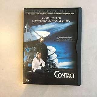 Contact Region 1 DVD
