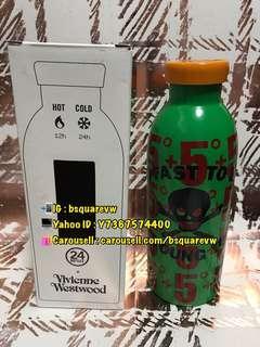 (現貨) 購自英國 2019春夏 Vivienne Westwood 24H BOTTLE 熱水12小時/ 冷水24小時 冷熱保溫瓶  (保証正貨及全新)