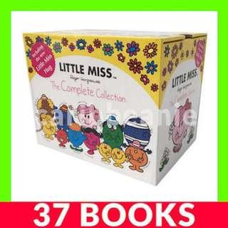 Little Miss: The Complete Collection Box Set - 37 Books
