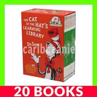 The Cat In The Hat's Learning Library Box Set - 20 Books