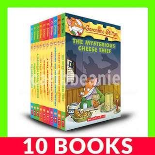 Geronimo Stilton (Book 31-40) - 10 Books