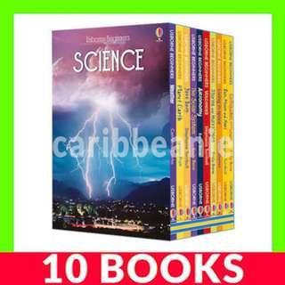 Usborne Beginners Science Box Set - 10 Books