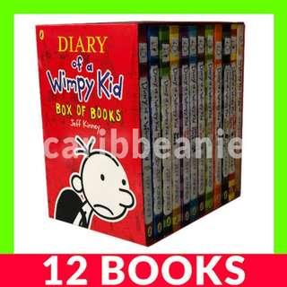 Diary of a Wimpy Kid Box Set - 12 Books