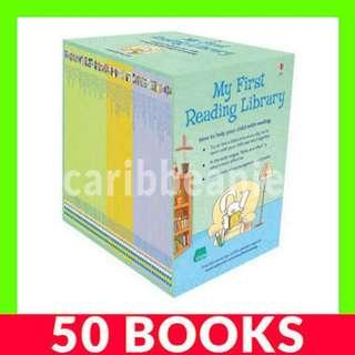 Usborne My First Reading Library Box Set (1st First Library) - 50 Books