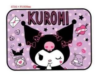 Kuromi 披肩圍巾毛毯(全新)