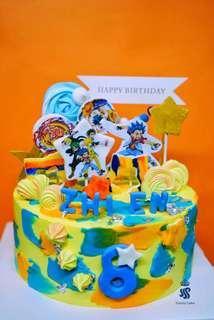Birthday cake - Beyblade