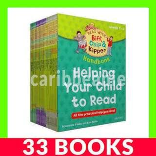 Read with Biff, Chip and Kipper (Oxford Reading Tree Levels 1-3) - 33 Books
