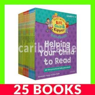 Read with Biff, Chip and Kipper (Oxford Reading Tree Levels 4-6) - 25 Books
