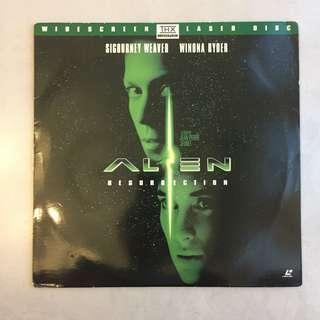 Alien Resurrection Laser Disc