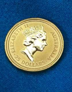 Limited edition - AUS (1/4 Ounce Gold Coin) ❤️💚💛💙🧡💜