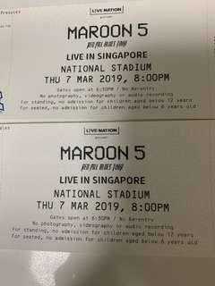 Maroon 5 Red Pill Blues Tour Singapore