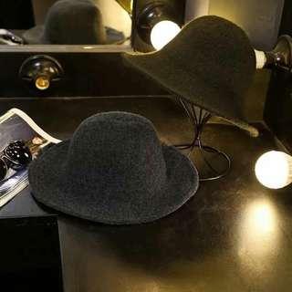 🚚 韓國🇰🇷秋冬羊絨保暖折疊漁夫帽