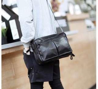 🚚 韓式作風 經典復古 側背包