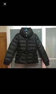 Cour Carre down jacket 女裝黑色羽絨外套