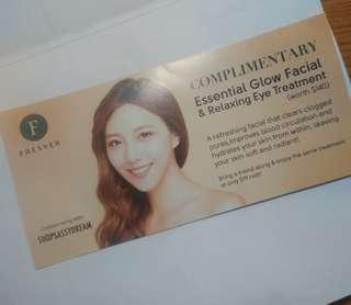 Fresver facial voucher