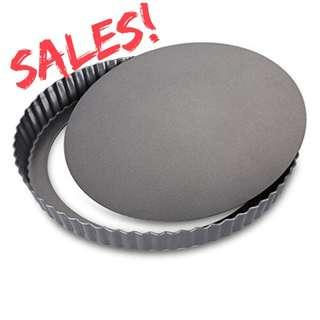 """7"""" Pie Tart Removable Base Baking Pan - ( Clearance sales )"""
