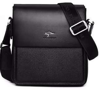 Tas Selempang Kangaroo Kingdom (NEW MODEL) Black