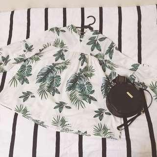 White Blouse Forest theme