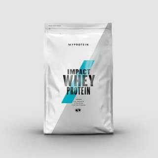 IMPACT WHEY [Protein] 1KG - Natural Vanilla