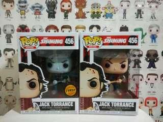 🚚 Funko Pop Jack Torrance Chase & Common Bundle Set Vinyl Figure Collectible Toy Gift Movie Horror The Shining