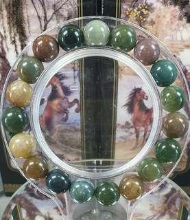 Blood Stone Bracelet 10mm