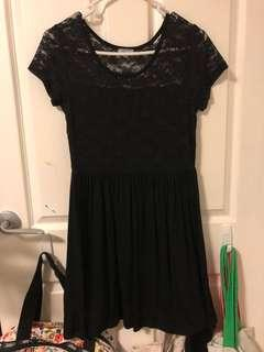 Sixty-Eight Lace Black Dress