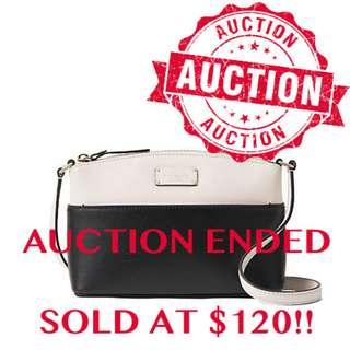 """⏰ENDING SOON!!Auction """"Like"""" & """"Bid"""" Authentic Brand New Kate Spade Grove Street Millie Leather Crossbody Bag From USA Suggested Retail: $385"""